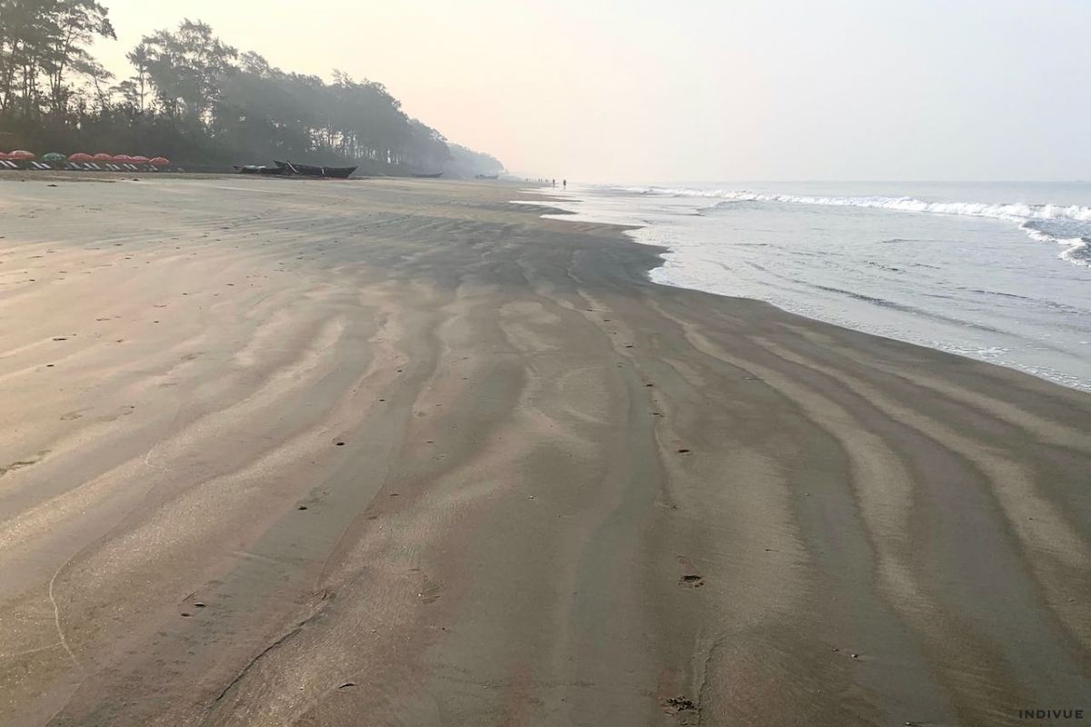 Gonsua Beach in South Goa India