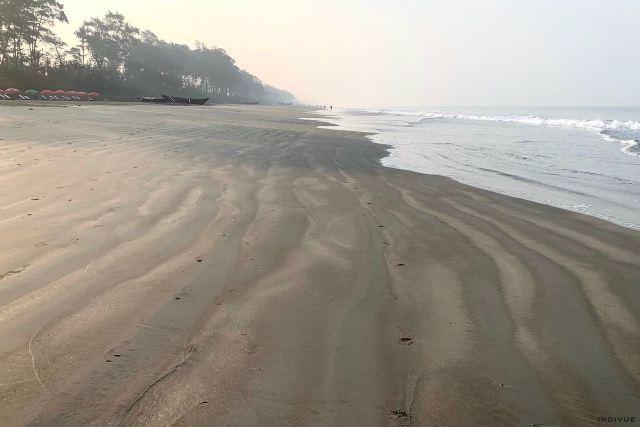Gonsua Beach in South Goa India