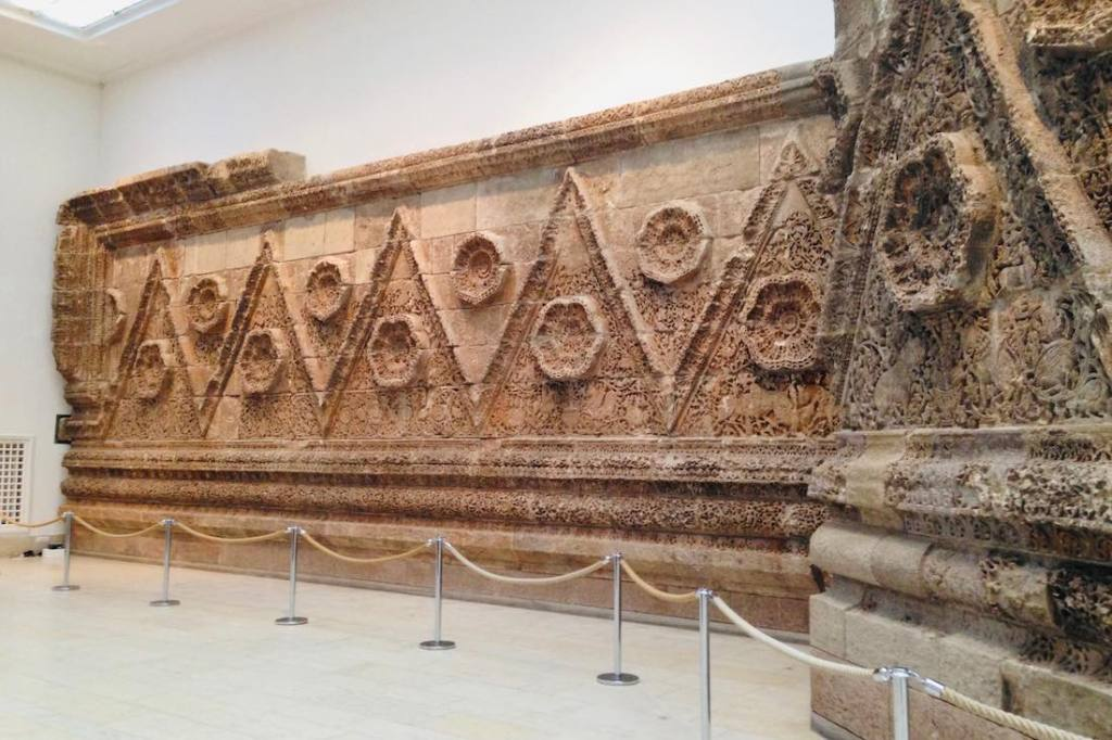 Exhibition in Pergamon Museum in Berlin