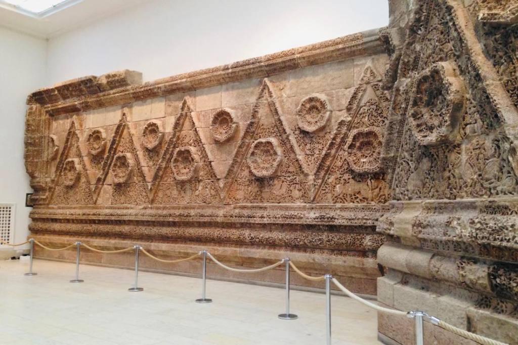Exhibition in Pergamon Museum in Berlin