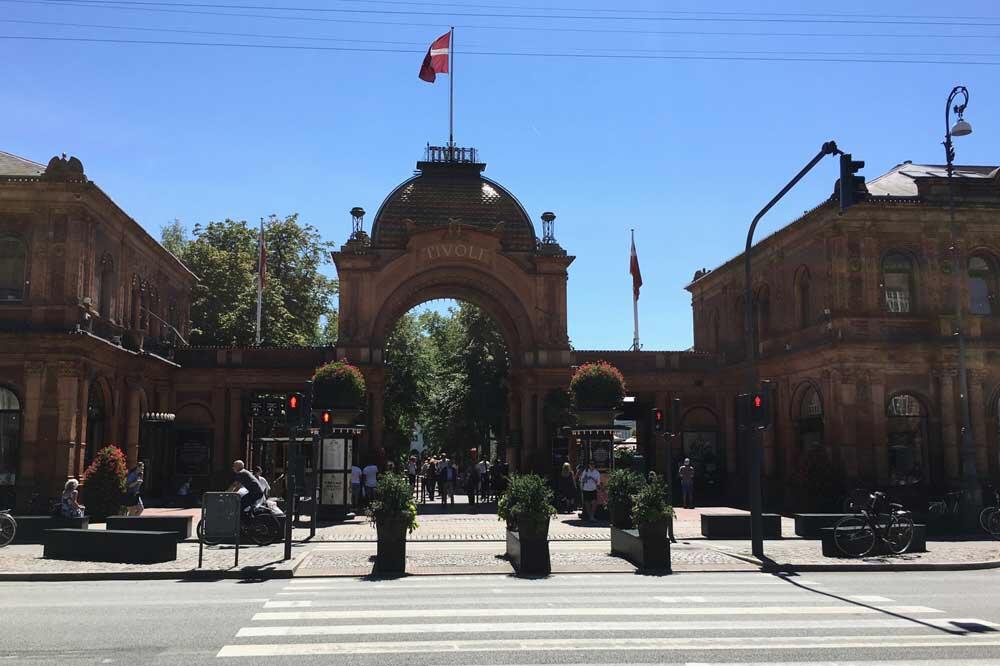 Entrance to Copenhagen Tivoli