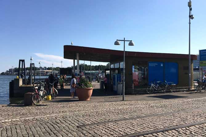 Suomenlinna island ferry stop