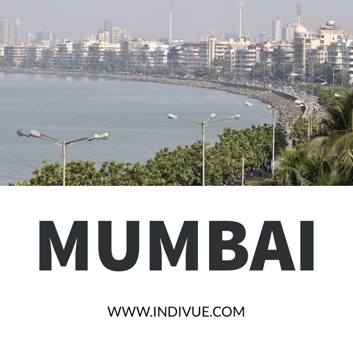 Marine drive Mumbai view from Hotel Oberoi