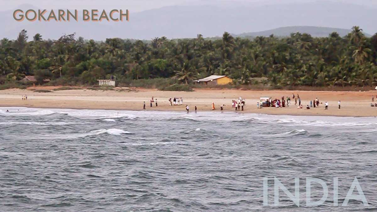 Gokarn Beach in India