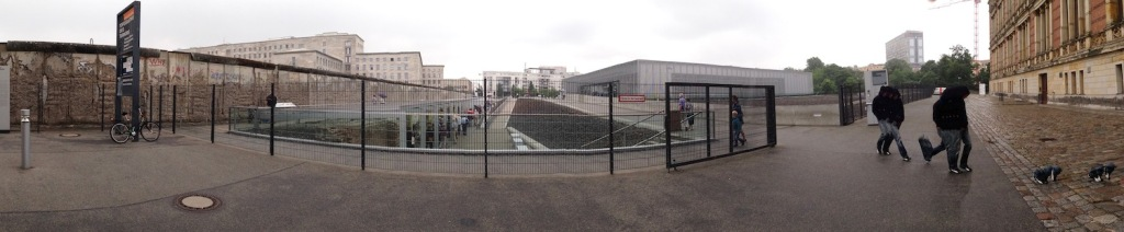 Panorama of Topografie Des Terrors in Berlin