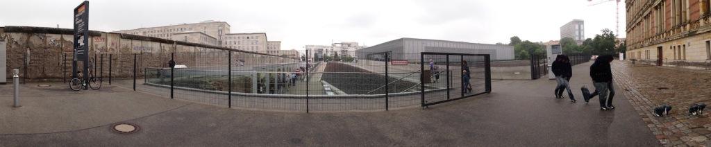 Panorama of Topografie Des Terrors in Berlin