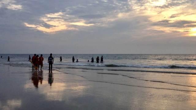 Lifeguards on the Benaulim Beach Goa