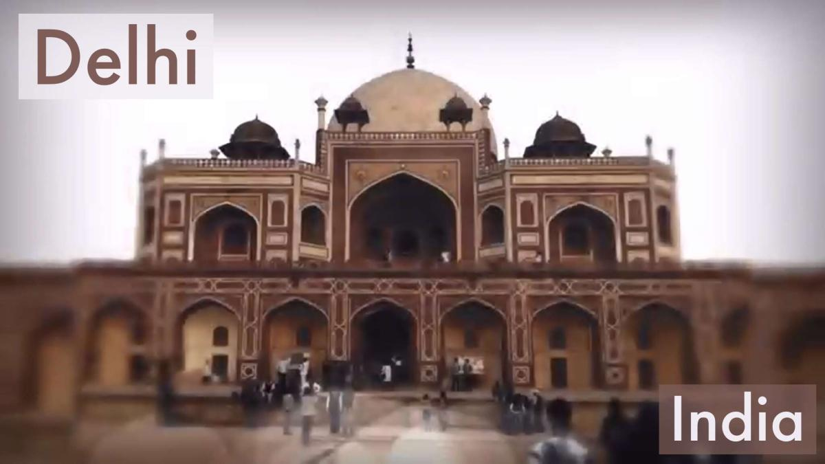 Humayun's Tomb in Delhi India
