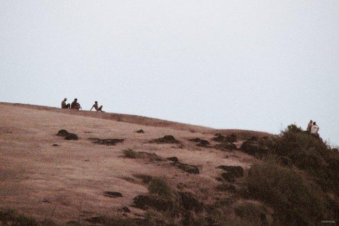 Hill between Kudley and Gokarn beaches