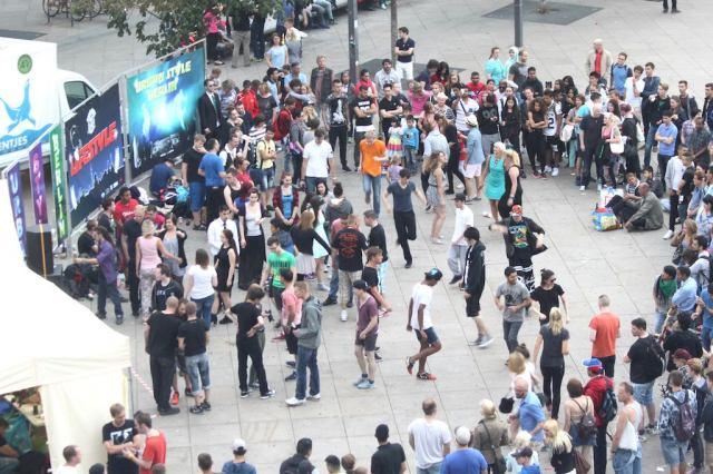 Street dance in Berlin
