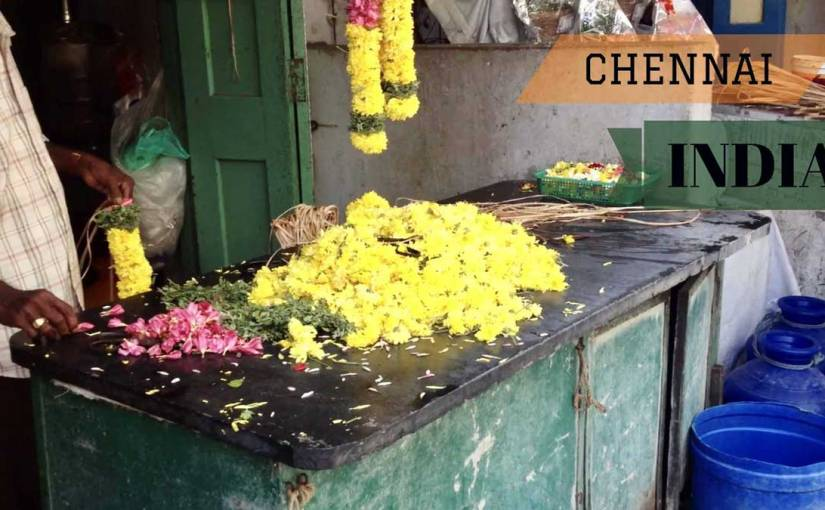Ordinary day in Chennai, India (video preview)