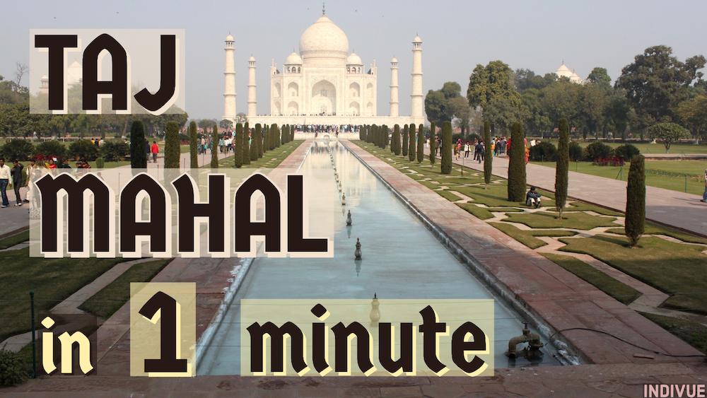 Taj Mahal in Agra India daytime