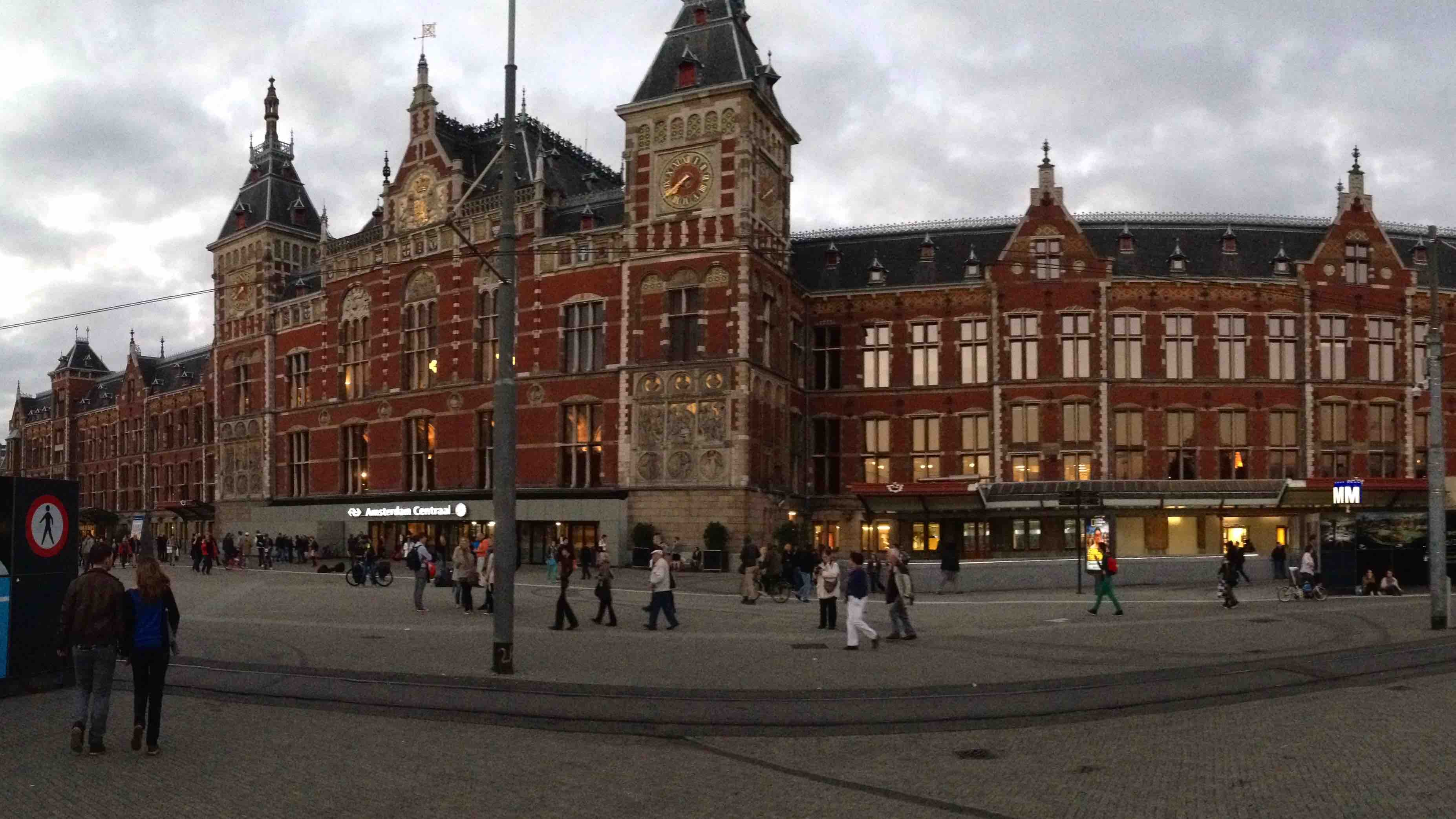 Trainstation, Amsterdam