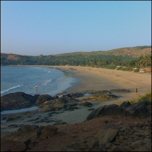 Kudley Beach, Gokarn, India