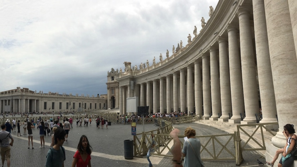 Entrance to the Vatican City State
