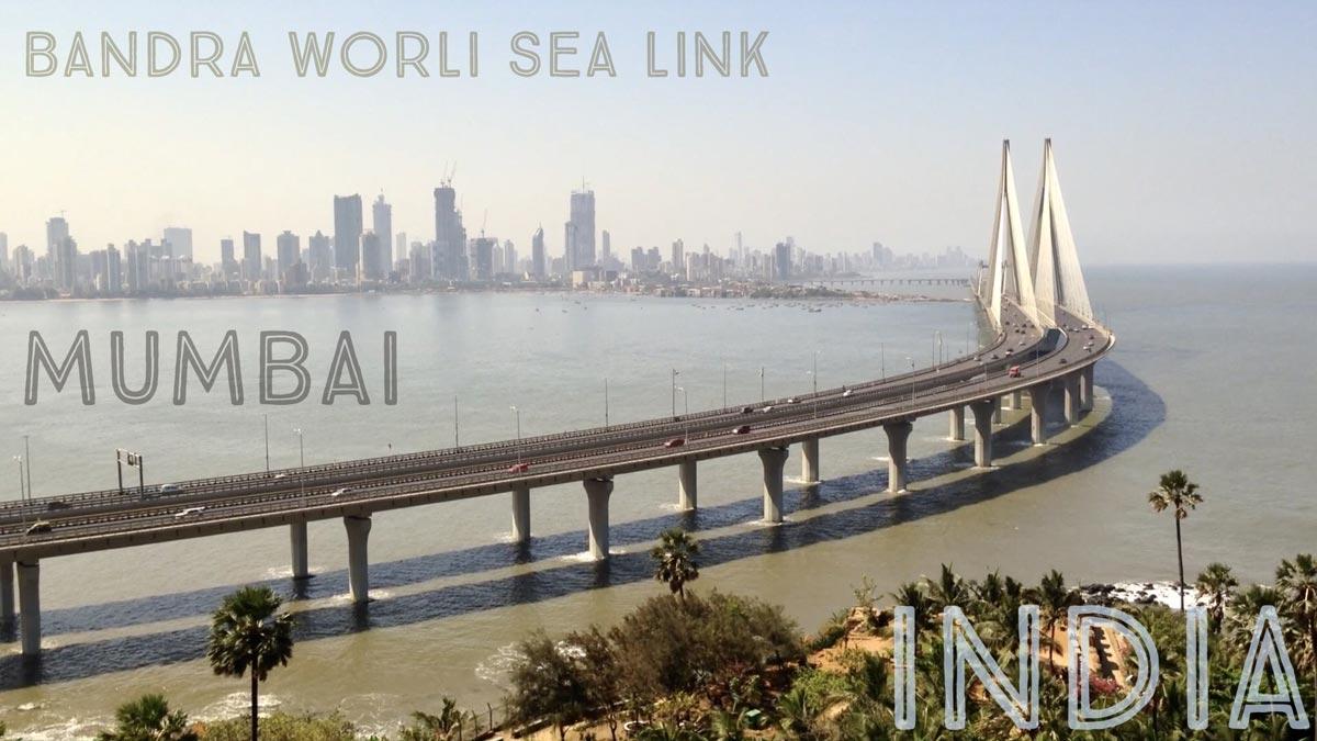 Bandra Worli Sea Link bridge in Mumbai