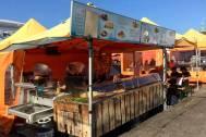 Kauppatori - Market square selling food