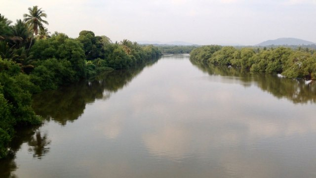 River flow in South Goa
