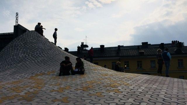 People in the renewed Helsinki centre
