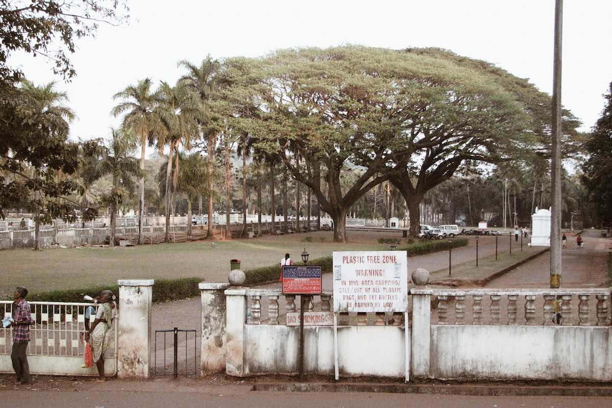 Park in Old Goa