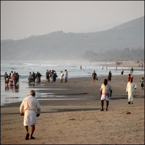 Gokarn Beach, India, 2007