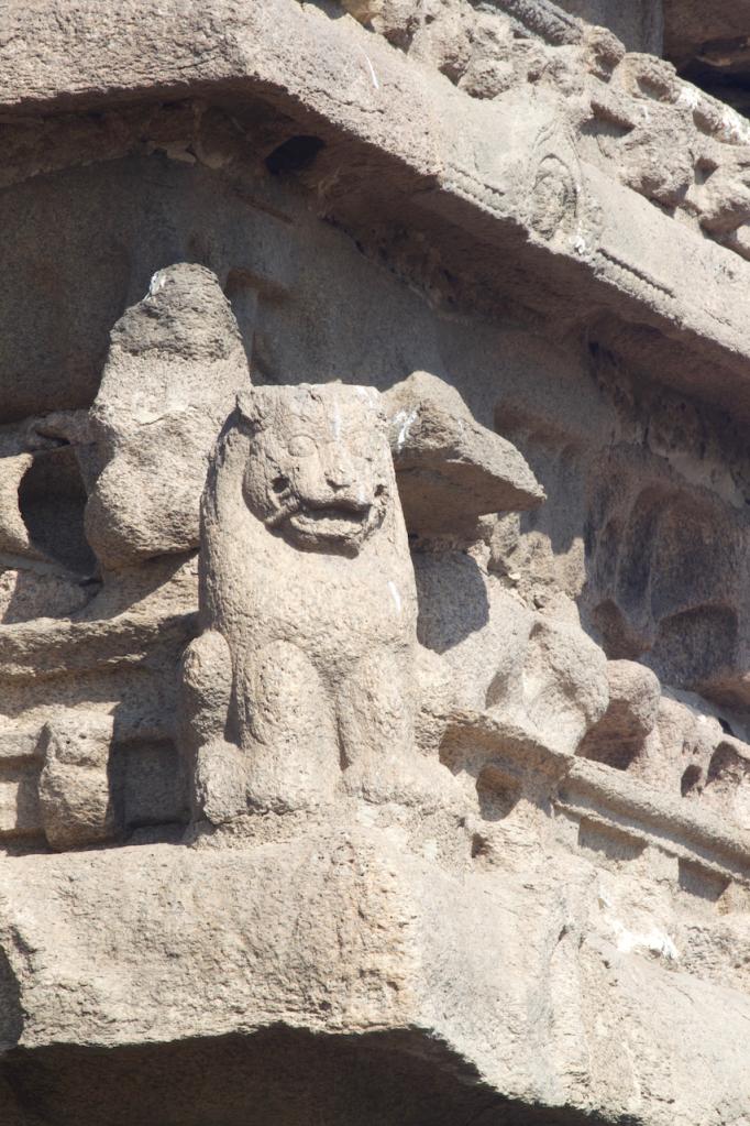 Wall of the Shore Temple, Mahabalipuram, India