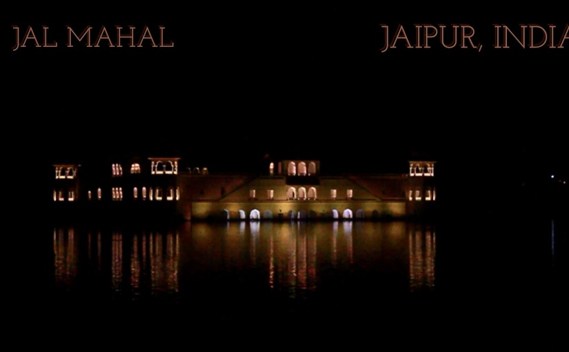The sound of Jaipur in the night