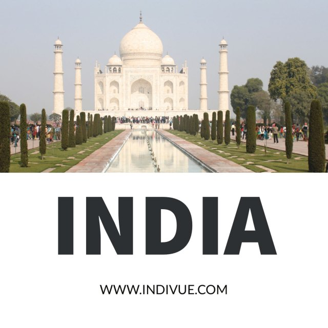 Taj Mahal in sunshine