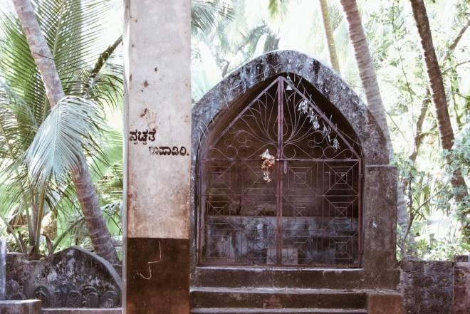 Religious sight in Gokarn, India