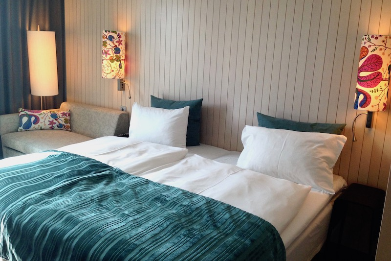 Hotel Berlin Scandic Potsdamer Platz room and beds