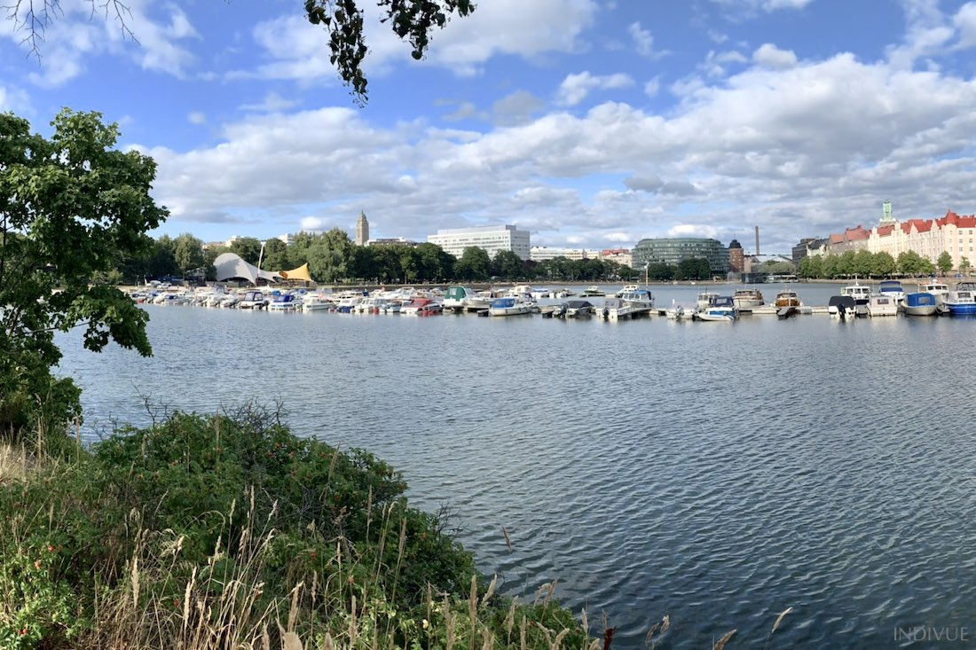 Hakaniemi and Tokoinranta in Helsinki Finland