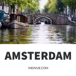 Channel cruise in Amsterdam