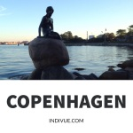 Statue of Mermaid in Copenhagen