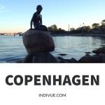 Statue of Mermaid in Copenhagen