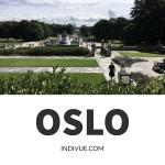 Oslo and Vigeland park