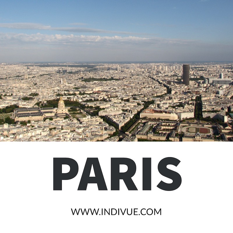 View over the city of Paris