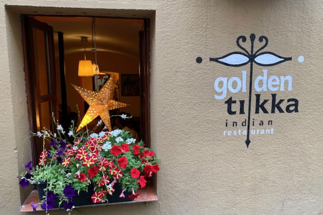 Golden Tikka restaurant in Prague