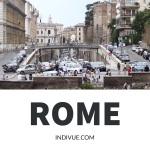 Streetview in Rome, Italy
