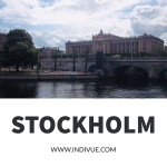 Stockholm and the king's castle