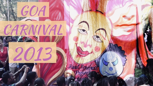 Goa carnival photography in 2013