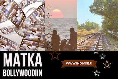 Mini button image of Trip to Bollywood in Finnish