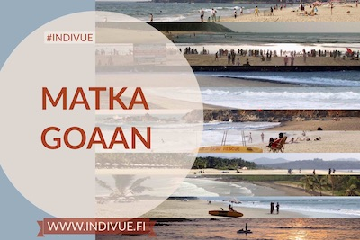 Mini button image of Trip to Goa in Finnish language