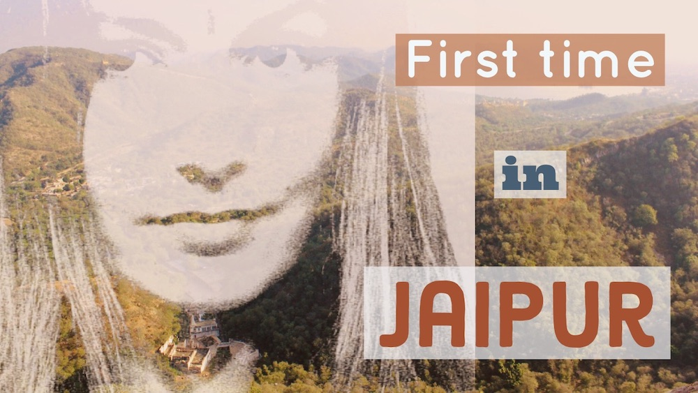 The cover image for First time in Jaipur -video