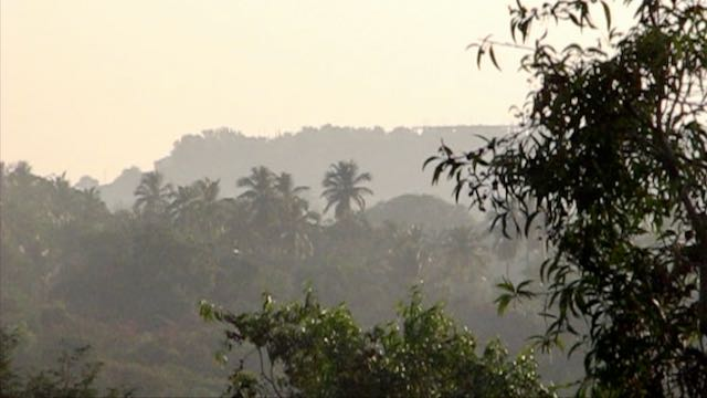 North Goan hills near Chapora
