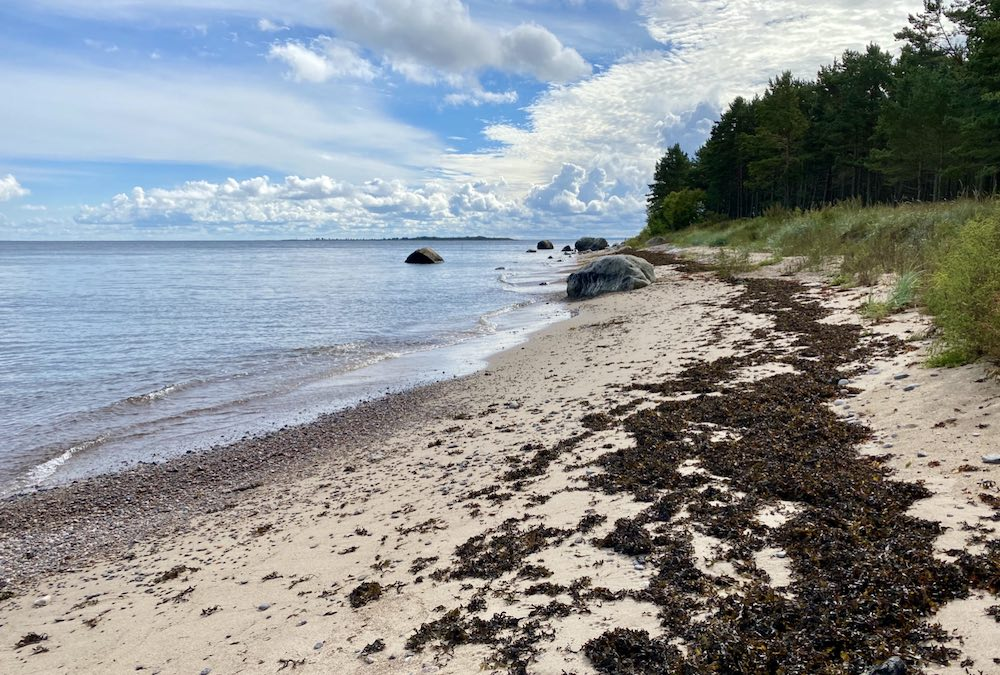Prangli island in Estonia