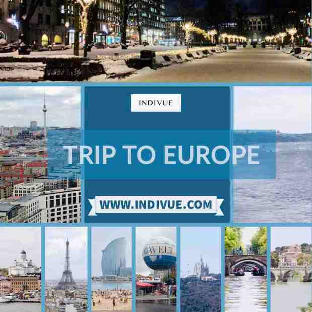 Trip to Europe front page